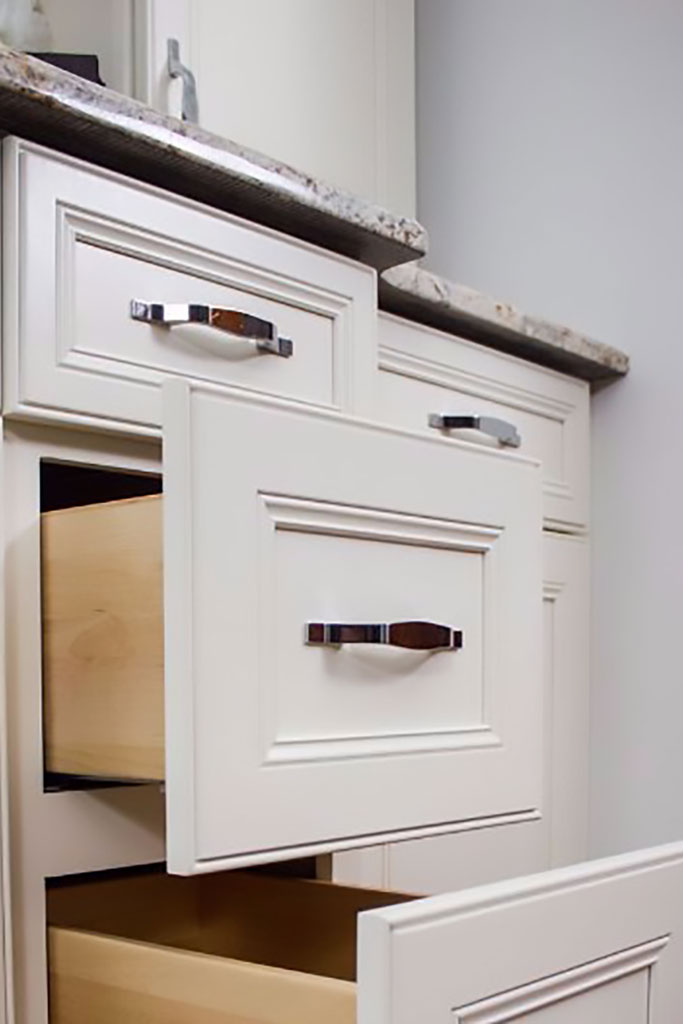 Shaker White Drawer